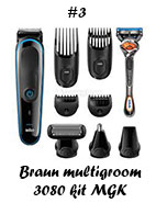 Braun multigroom kit MGK 3080