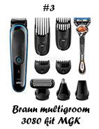 Braun multigroom kit MGK 3080