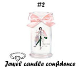 "Jewel candle ""confidence"""
