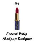 L'oreal Paris Makeup Designer color riche édition cannes