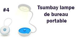 Tsumbay lampe de bureau portable lampe
