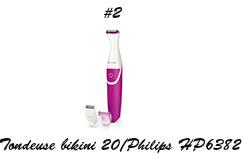 Philips HP638220 tondeuse bikini
