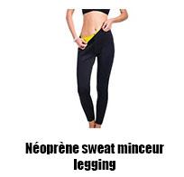 Néoprène sweat minceur legging