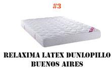 Relaxima Latex Dunlopillo Buenos Aires