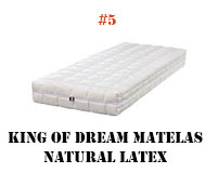 king of dream matelas natural latex
