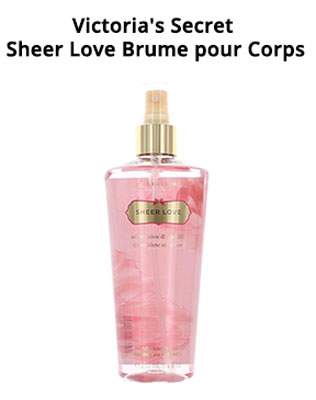 Victoria's Secret Sheer Love Brume pour Corps