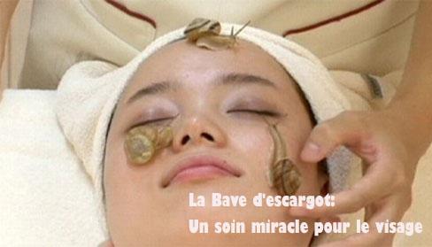 La Bave d'escargot un soin miracle pour le visage