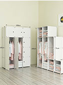 Armoire Penderie Portable Storage