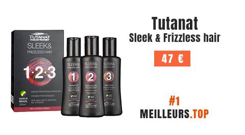 TUTANAT - meilleur Kit de lissage brésilien