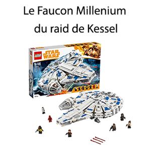Le Faucon Millenium du raid de Kessel lego