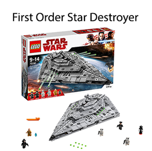 First Order Star Destroyer lego