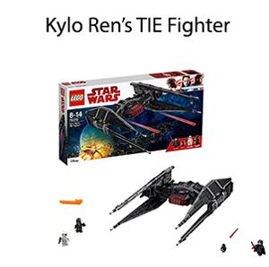 Kylo Ren's TIE Fighter lego
