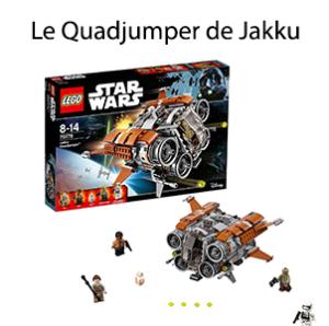 Le Quadjumper de Jakku lego