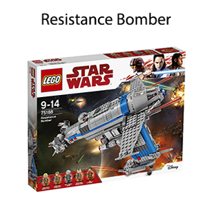 Resistance Bomber lego adulte