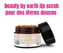 Beauty by earth lip scrub Berry pour des lèvres