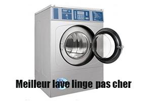 meilleur lave linge pas cher