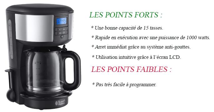 Machine hot coffee : avantages et inconvénients de la dosette Russel Hobbs