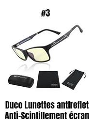Duco Lunettes antireflet Anti-Scintillement écran