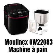 Moulinex OW220830 machine à pain