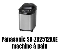 Panasonic SD-ZB2512KXE machine à pain super performante