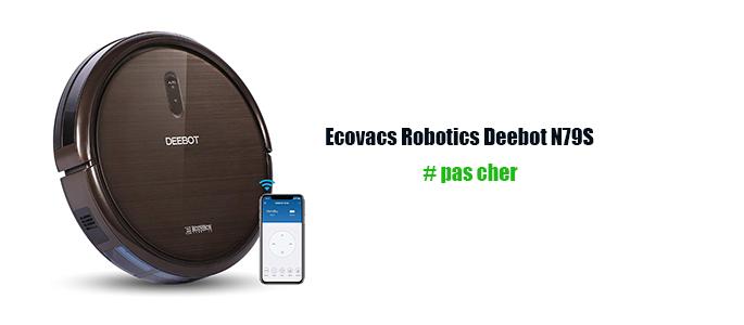 Robot laveur de sol Ecovacs Robotics Deebot
