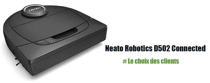 Robot laveur de sol Neato Robotics D502