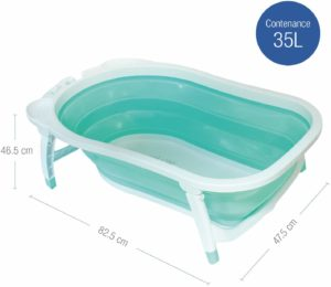 baignoire en platique
