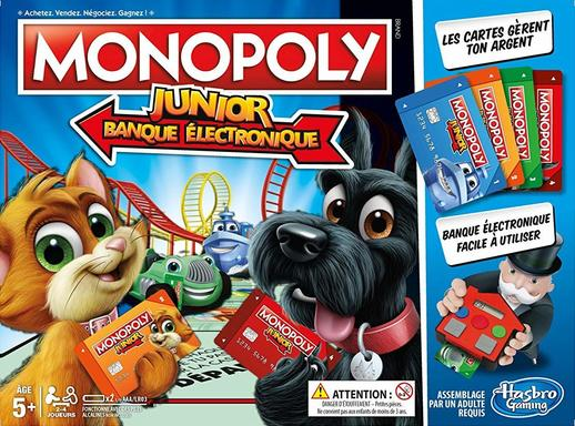Monopoly junior électronique