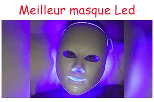 meilleur rapport qualite prix masque led visage