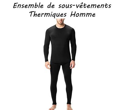 Ensemble de sous-vêtements Thermiques Homme