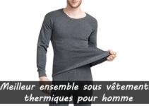 Meilleur ensemble sous vêtements thermiques pour homme