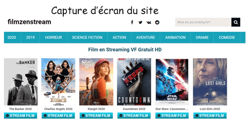 Meilleurs sites de streaming gratuits