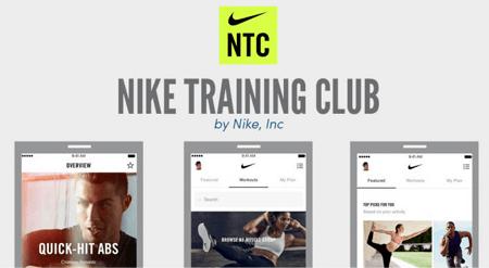 Application de sport à la maison Nike Training Cub