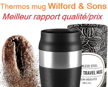 thermos mug wilfrod & sons au meilleur rapport qualite/prix