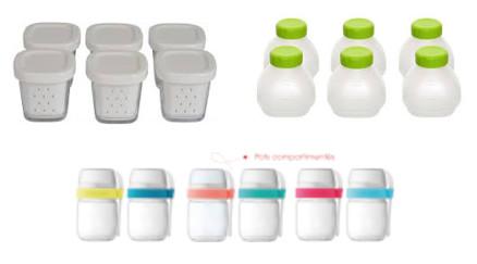 divers pots pour yaourtière