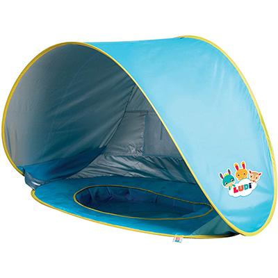 Meilleure tente de plage pour bébé -Ludi