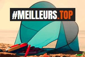 Top tente de plage anti UV en 2021