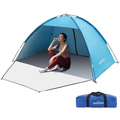 Meilleure tente de plage pour famille